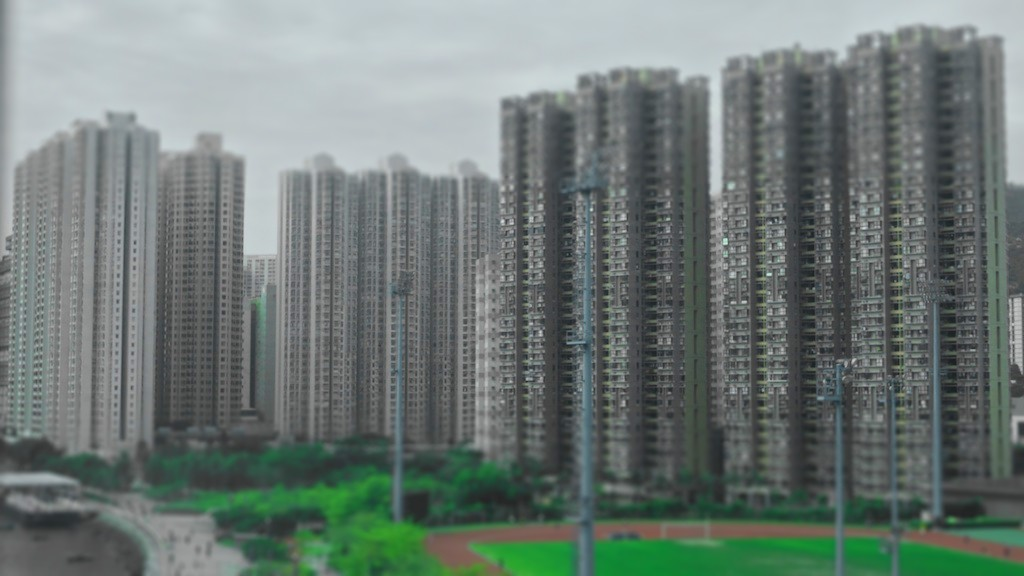 Grands immeubles-tiltshift