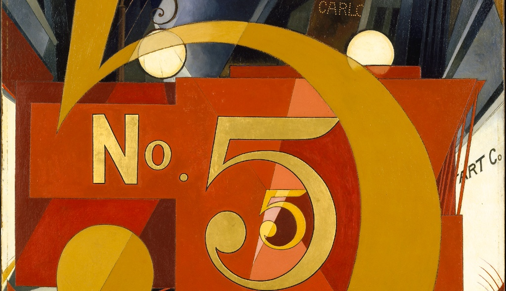 Charles Demuth — Figure 5 in Gold — 1927