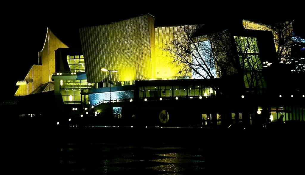 Philharmonie de Berlin — Hans Scharoun — ©Urbain, trop urbain