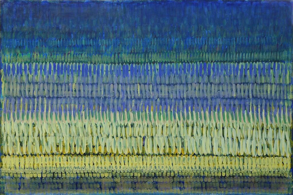 Armén Rotch, Espace tempéré, acrylique sur toile, 200x300cm, 2000
