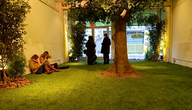 Pop up park — ©Open House gallery NYC