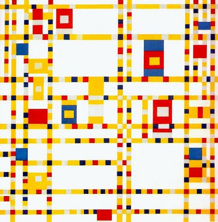 Piet Mondrian, Broadway Boogie-Woogie, 1942