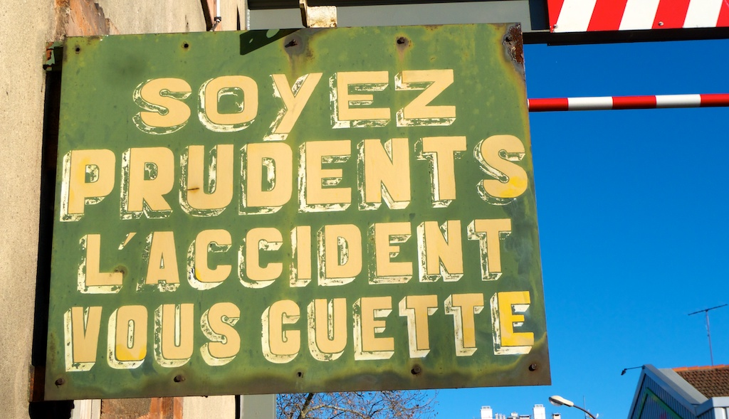 L'accident vous guette—©Urbain, trop urbain