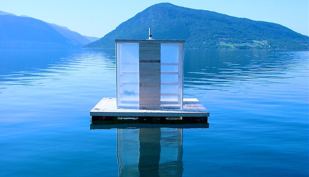 Floating sauna_Ryo Yamada