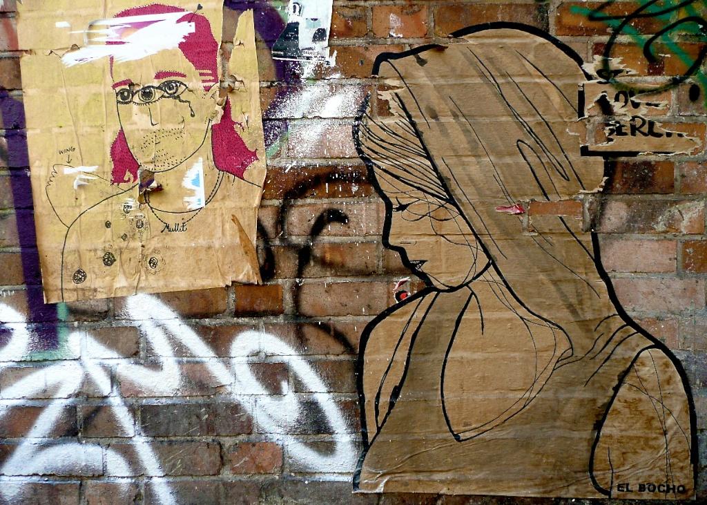 Couple par Mullet et El Bocho, Mitte, Berlin ©Microtokyo