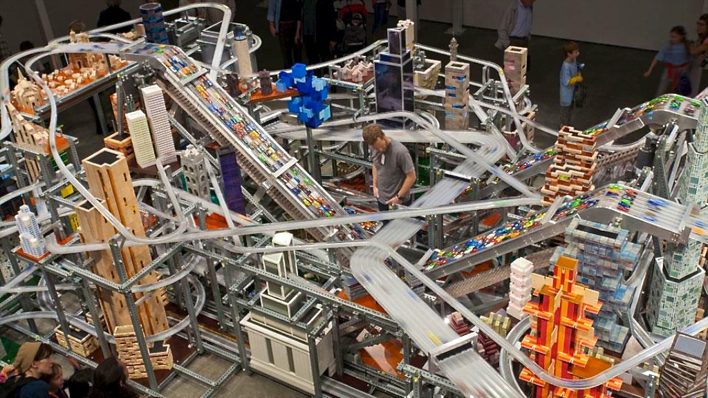 Chris Burden, Metropolis II