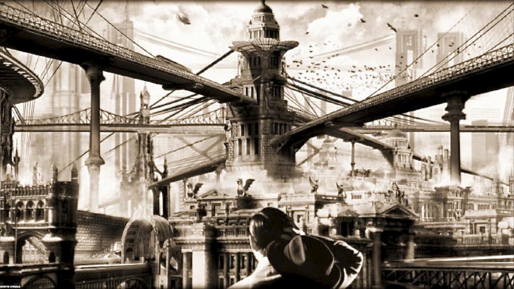 Miroirs de la ville 14 r tro futur demain s est d j for Architecture utopiste