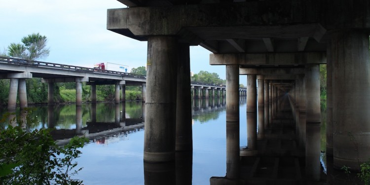 Atchafalaya Basin Bridge, 1973