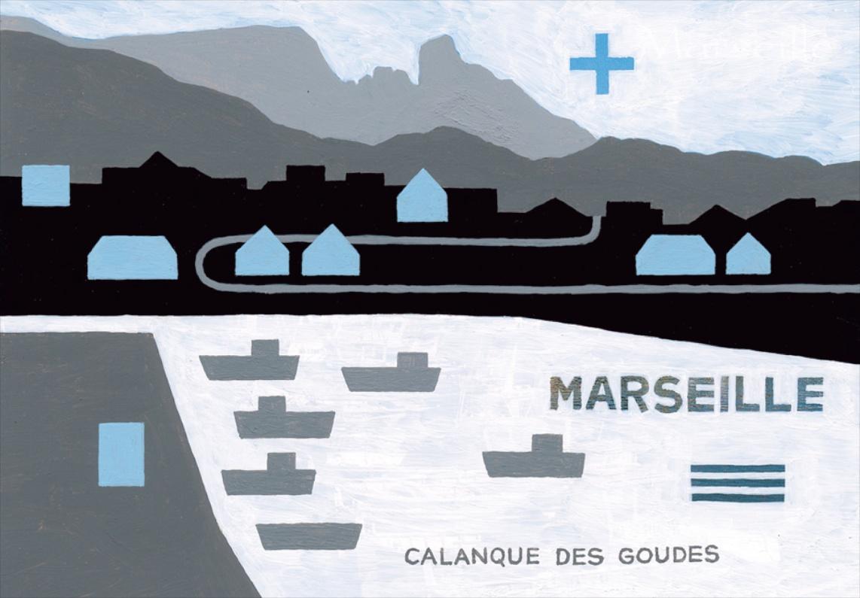 Marseille panorama polaire, éditions Fotokino, 2008