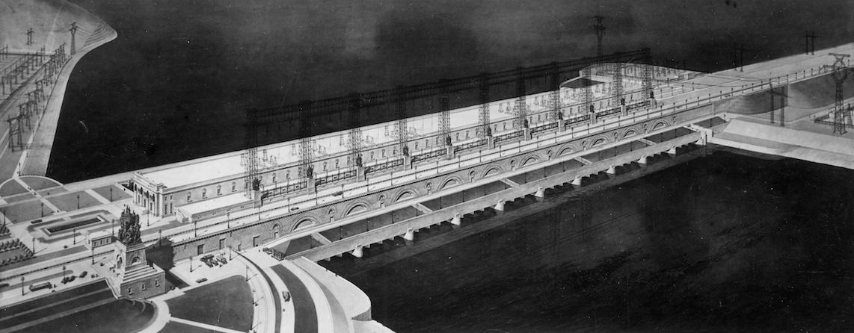 Leonid Poliakov, projet du barrage de Togliatti, 1951