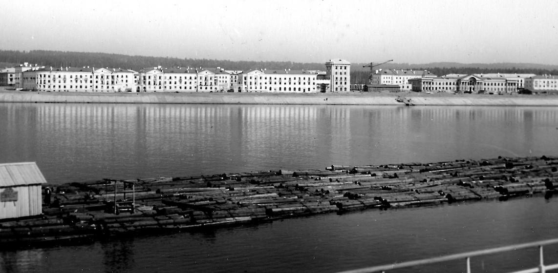 Le front urbain sur la Volga, état en 1954