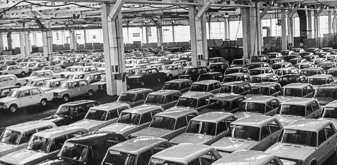 L'usine automobile AvtoVAZ, 1969