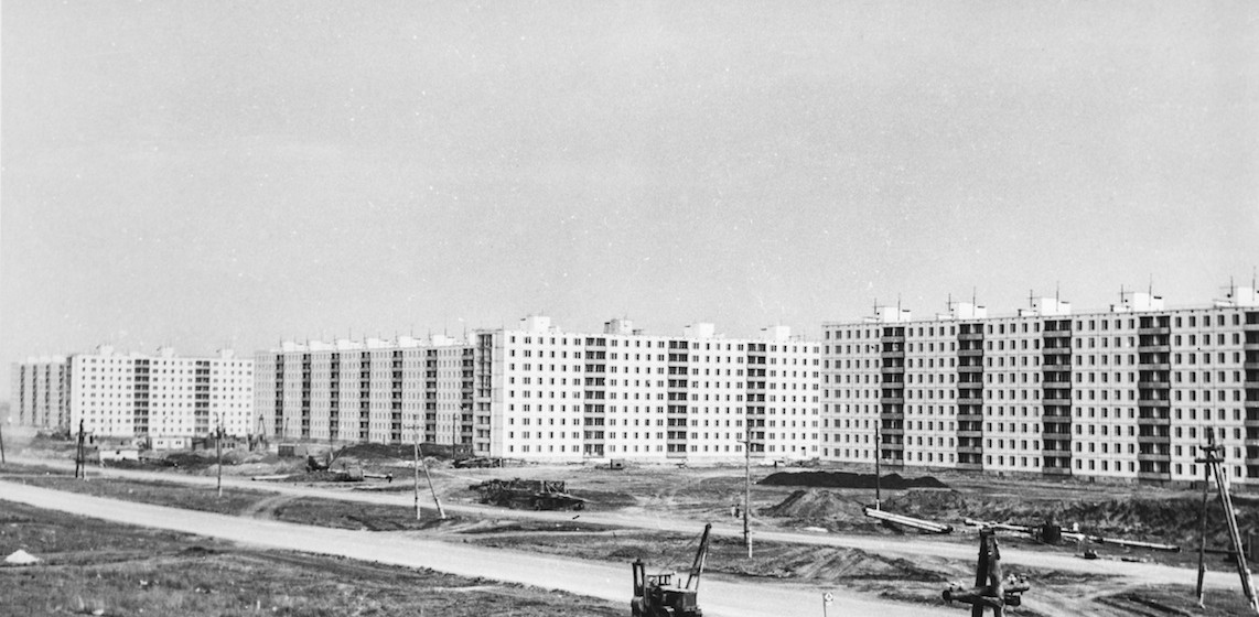 Chantier du district Avtozavodski, 1969