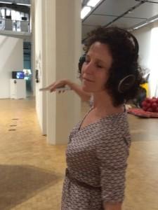 Réception d'une exposition. L'effet Bach. ZKM, août 2016.