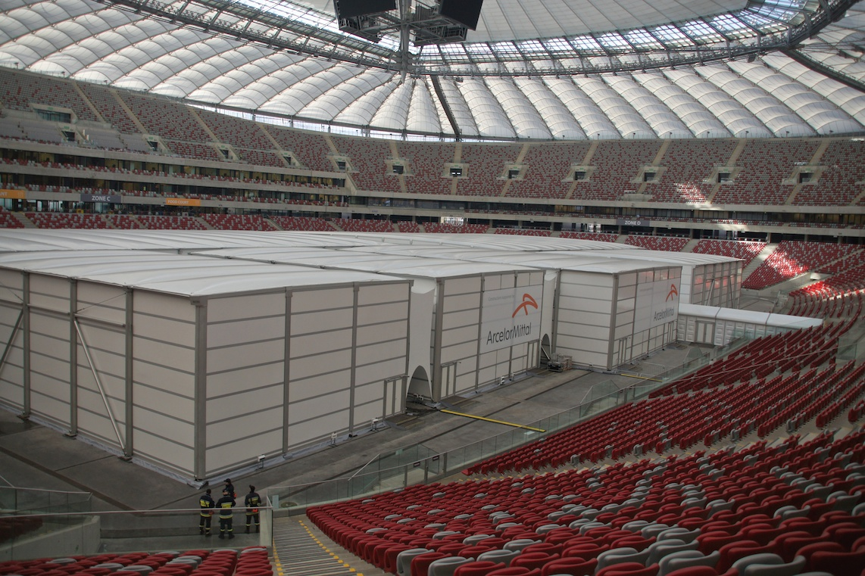 Armin Linke, COP19 at National Stadium