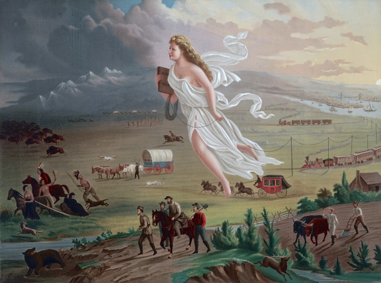 John Gast, Manifest Destiny, 1872
