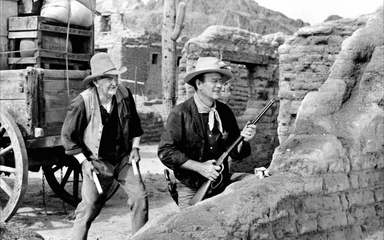 John Wayne dans Rio Bravo