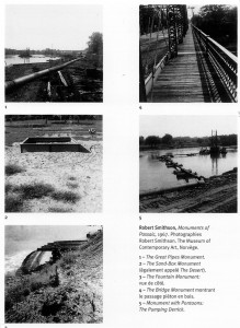 Robert Smithson, Monuments of Passaic, 1967