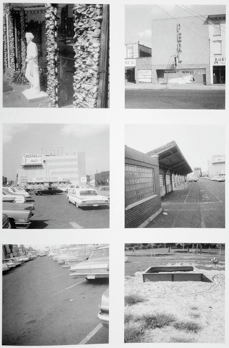 a tour of the monuments of passaic new jersey by robert smithson Robert smithson, monuments of passaic, new jersey, 1967 monument of dislocated directions robert smithson, monuments of passaic, new jersey, 1967 monument of.