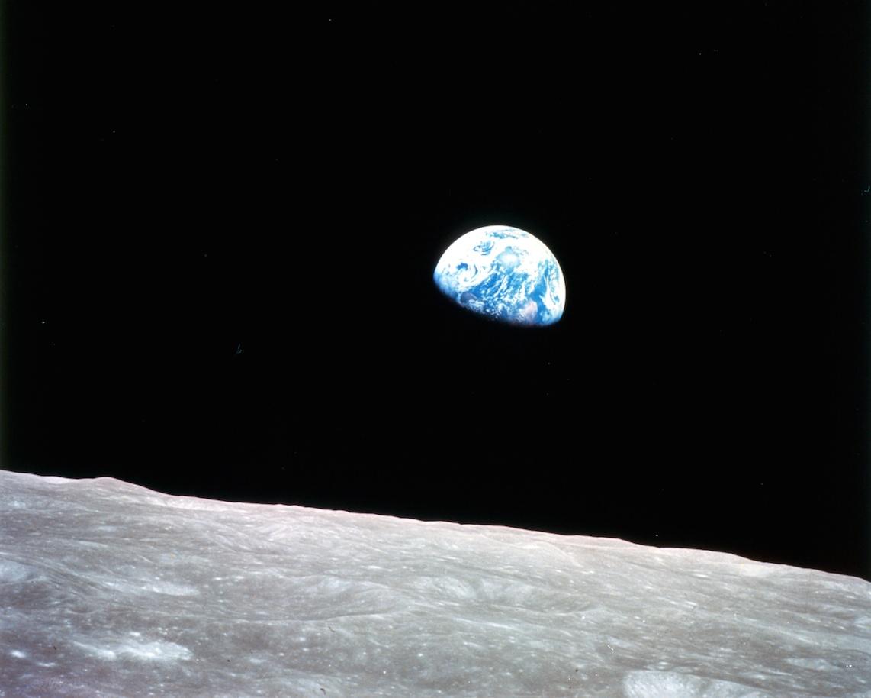 Nasa, Lever de Terre sur la Lune, Apollo 8, décembre 1968