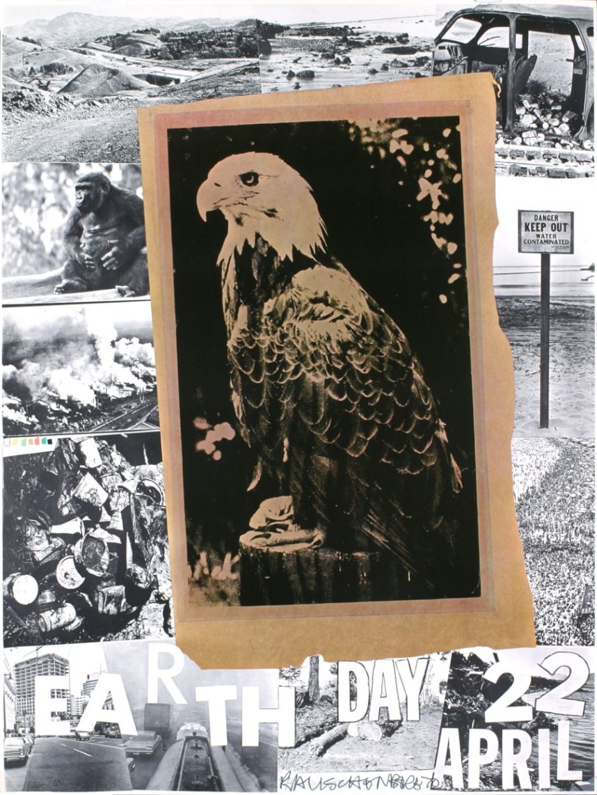 Robert Rauschenberg, Earth Day poster, 1970