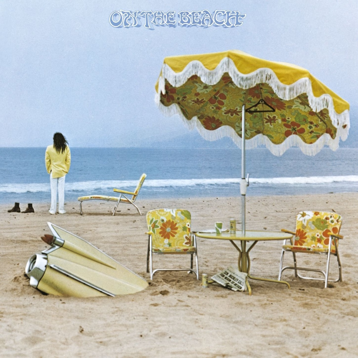 Neil Young, On the beach, cover, 1974
