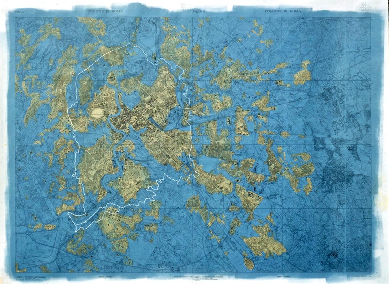Stalker, Rome, archipel fractal, voyage dans les combles de la ville, 1995