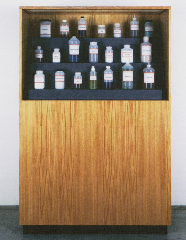 Mark Dion, Biocide Cabinet, 2000
