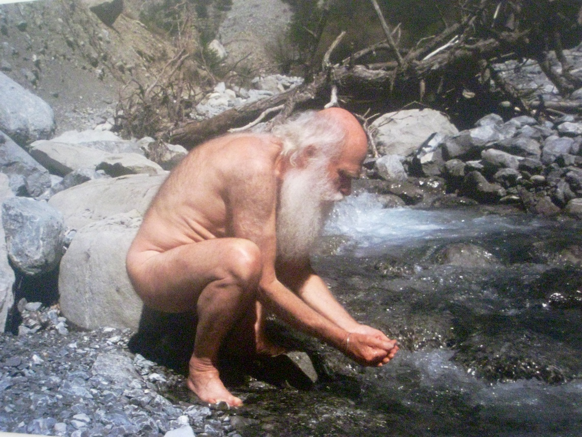Herman de Vries, Drinking from the stream, 2011