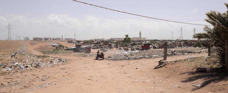 Golssas (lieux de tri de déchets) de Casablanca – ©Pascal Garret