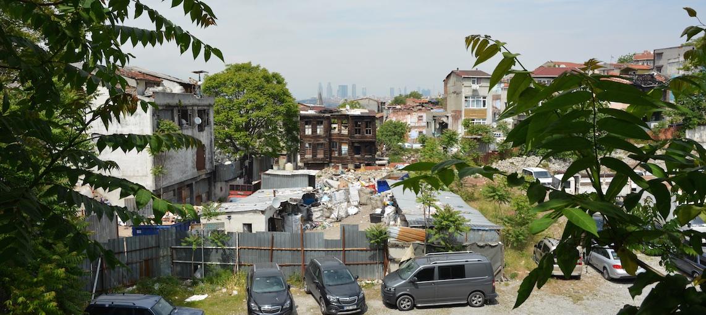 Istanbul, un depo (lieu de tri et de stockage de déchets) – ©Pascal Garret