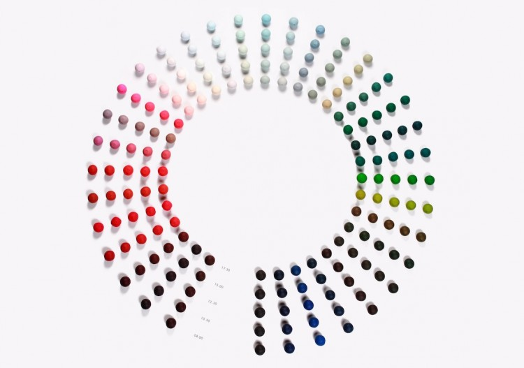 Hella Jongerius. Daylight Colour Wheel, 2011. FNAC 2015-0061, Centre national des arts plastiques © Hella Jongerius – Cnap