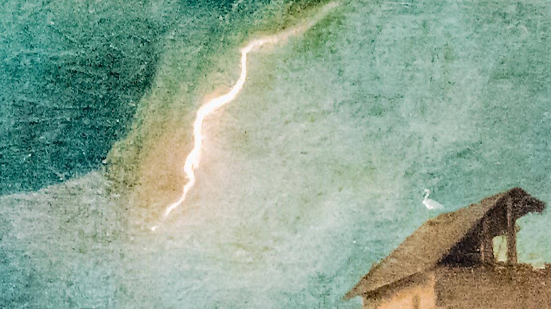 La Tempesta de Giorgione, détail
