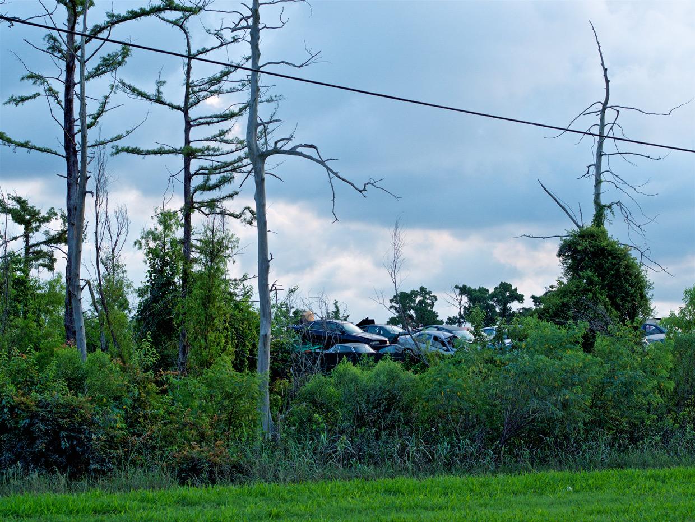 Chef Menteur Highway, Louisiane ©Matthieu Duperrex