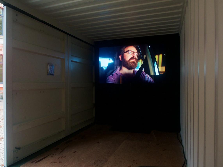 """Installation lors de """"Lumières sur le Quai 2019"""", Quai des Savoirs, 02-03/11/2019"""