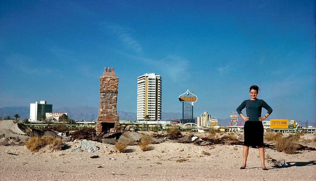 Denise — Venturi, Scott Brown and Associates, Inc., Learning from Las Vegas Studio, 1968, photograph (courtesy of Venturi, Scott Brown and Associates, Inc.)