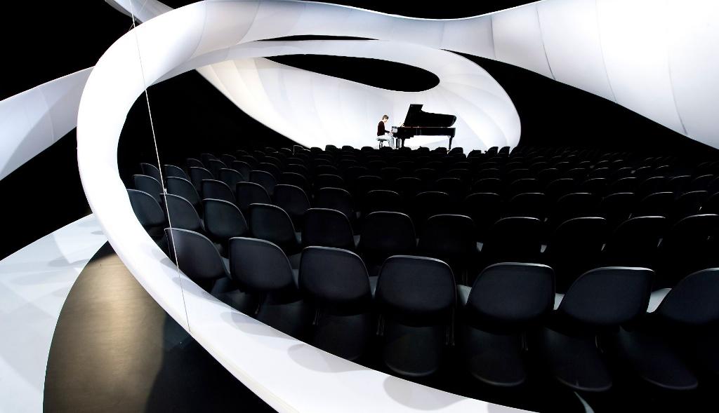 Installation Johann Sebastian Bach à la Manchester Art Gallery — ©Zaha Hadid Architects