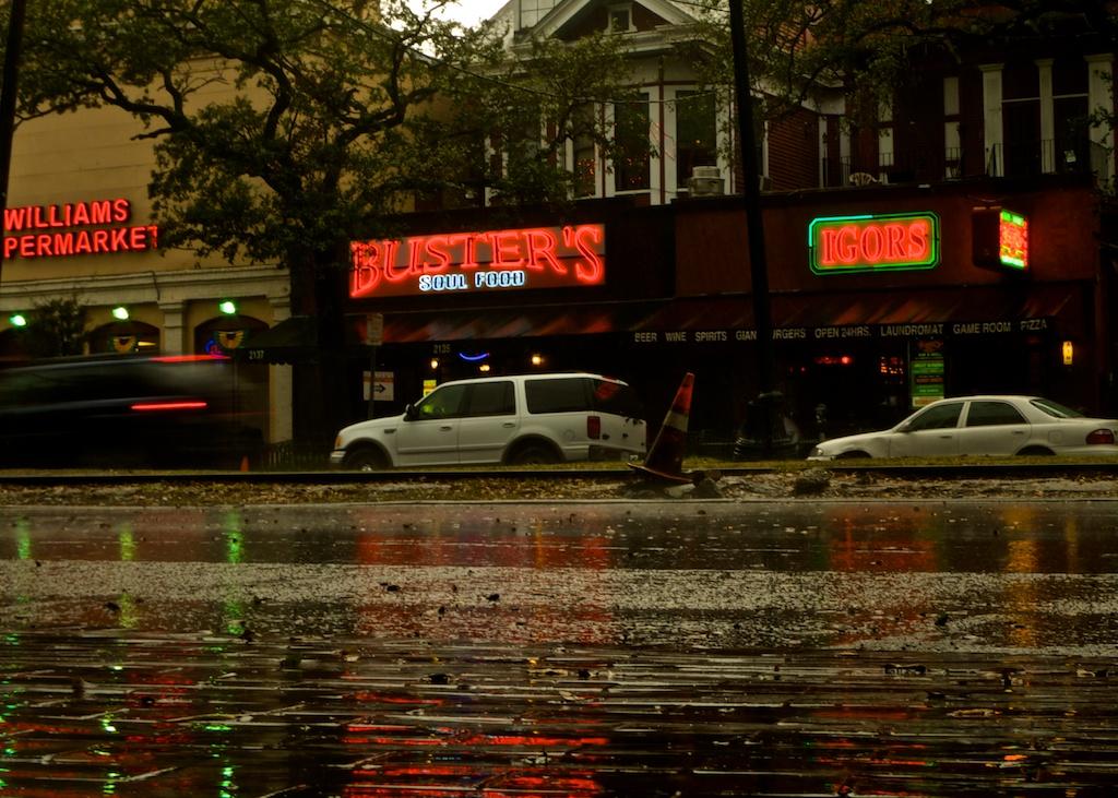 Pluie sur Charles street
