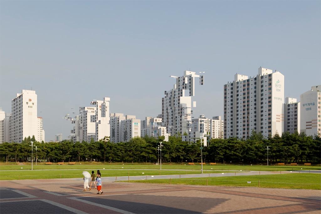L anarchitecture une lecture urbaine par d construction for Paysage de ville