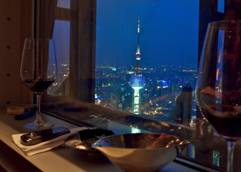 Autre vin de Bordeaux dans les cieux de Pudong