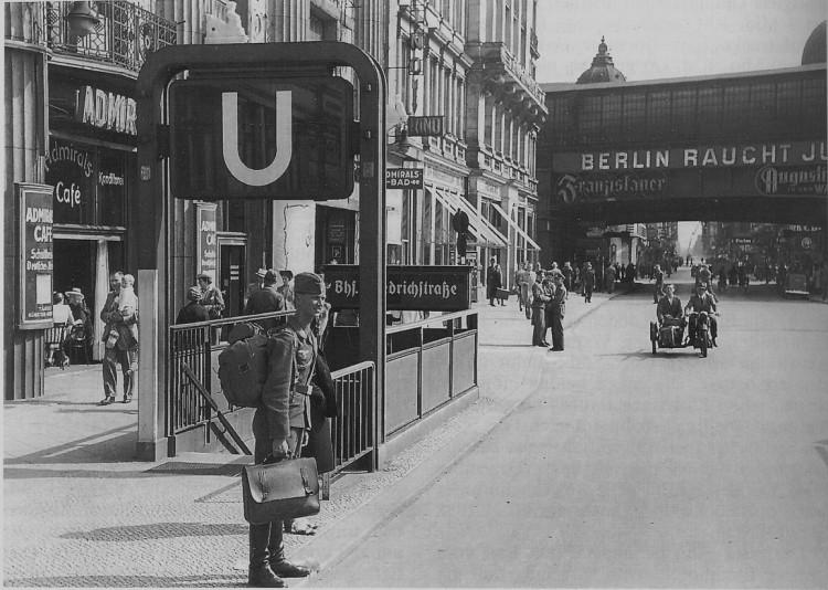 U-Bf Friedrichstraße