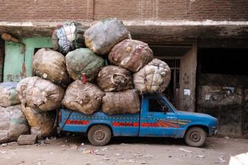 Pickup à Manshayet Nasr, le Caire ©David Degner