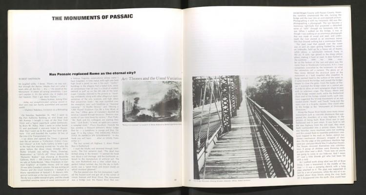 La publication originale de l'article de Robert Smithson dans le Artforum de décembre 1967.