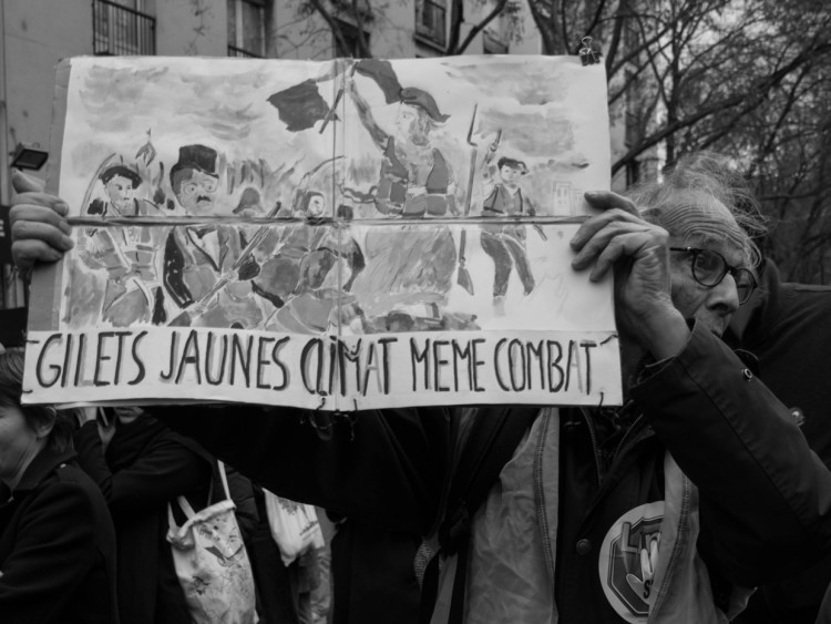 Marche pour le climat du 8 décembre 2018, Paris (CC BY-SA 4.0 by Jules-Xénard)