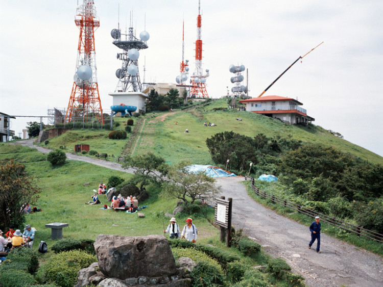 ©Armin Linke | Mountain with Antennas, Kitakyushu, Japan, 2006